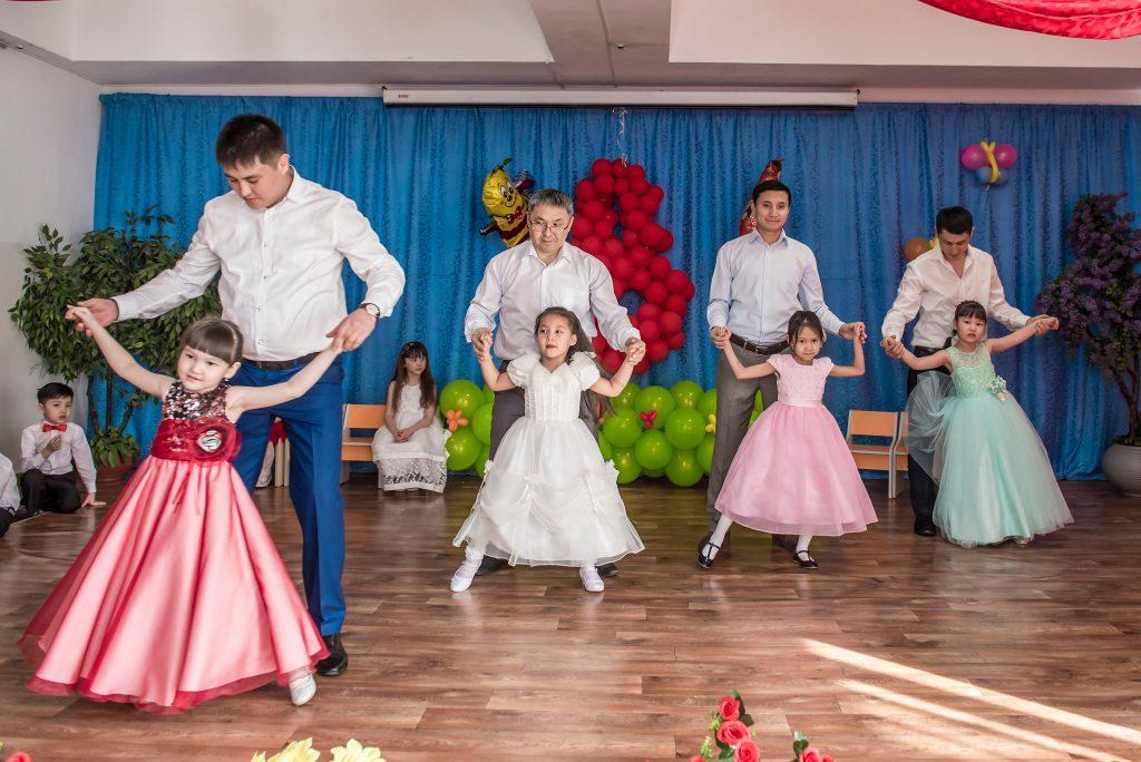 Танец с папами