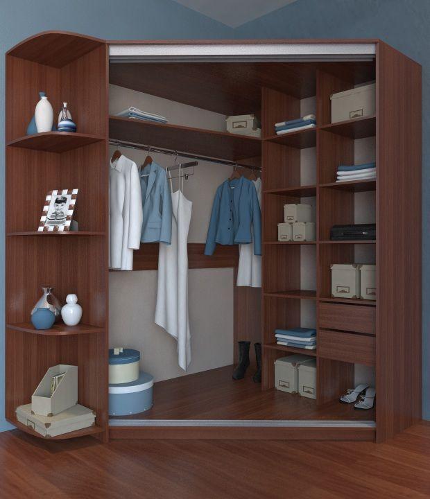 угловые шкафы материалы конструкции декор выбор для дома