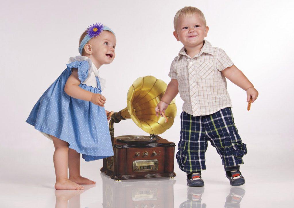 Разучивание танцев с малого возраста