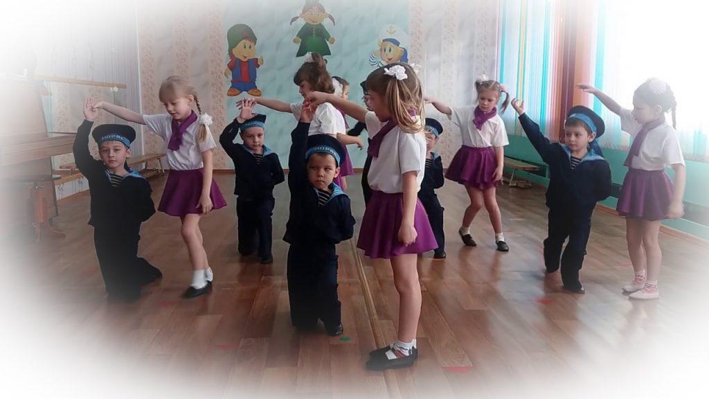 Детский танец на 23 февраля