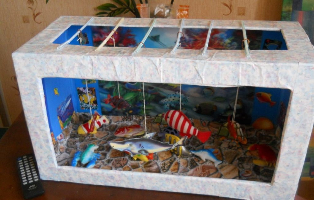 аквариум из коробки