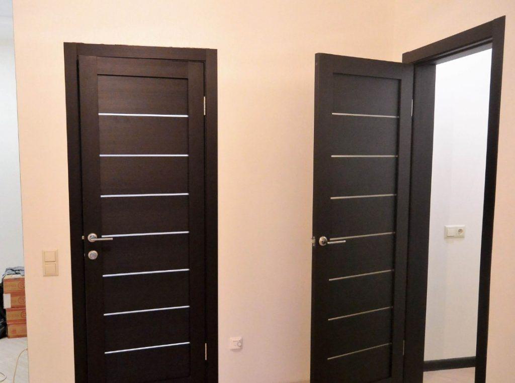 Установка межкомнатных дверей своими руками как правильно