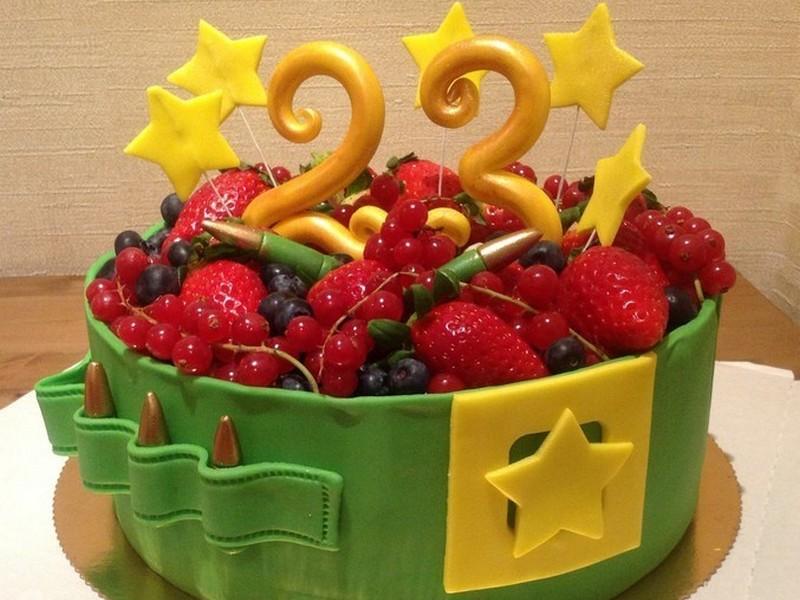 Торт на 23