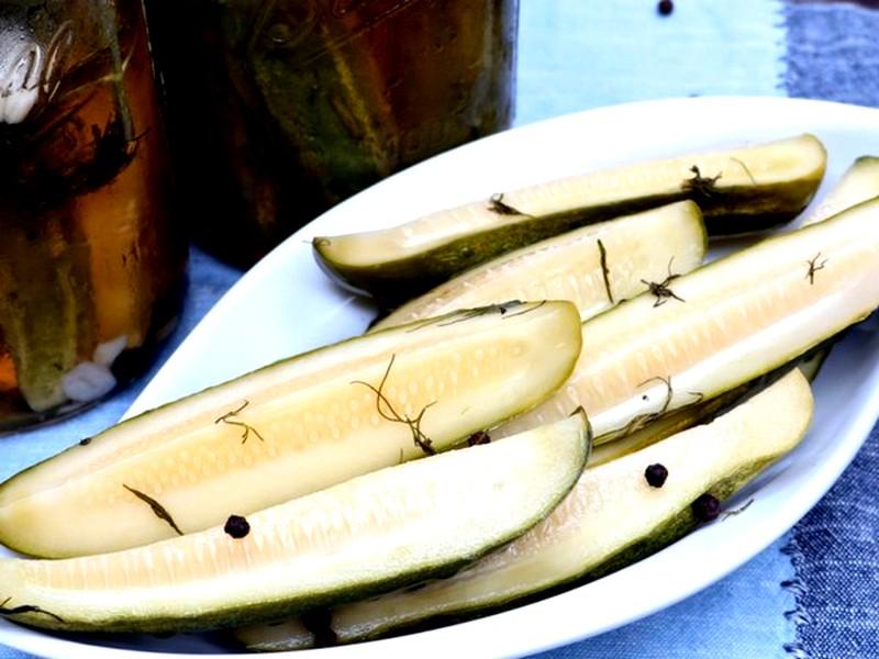 рецепт малосольных огурцов