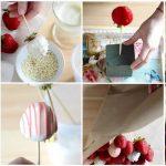 Фото 42: Букет из клубники в белом шоколаде