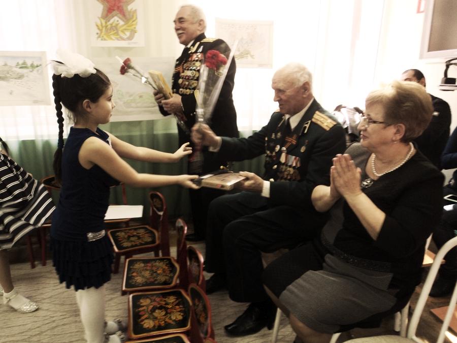 Приглашение ветеранов на праздник