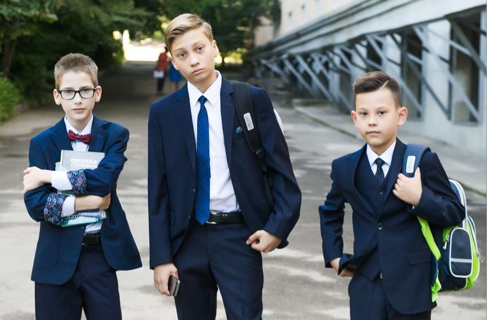 Выбор школьной формы для мальчиков