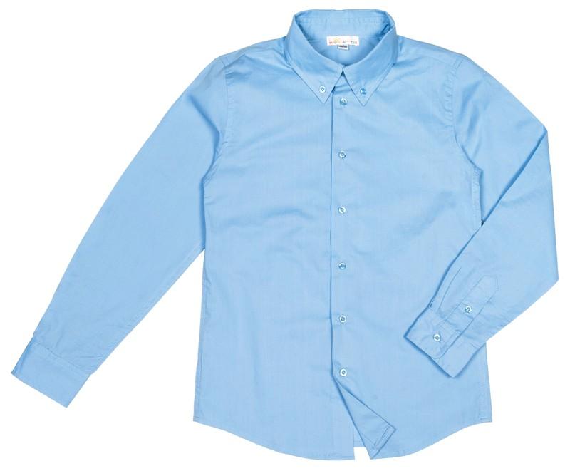 светло-голубая рубашка для мальчика