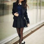 Фото 27: Школьная юбка с высокой талией