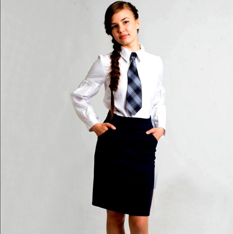 юбка-карандаш для девочки