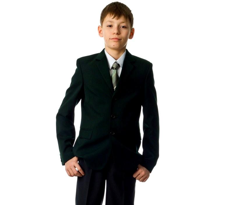 зеленый пиджак для мальчика