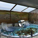 Фото 3: 3Д рисунок в чаше бассейна