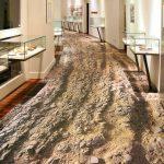Фото 32: 3D пол в коридоре с рисунком грунтовой дороги