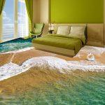 Фото 33: 3D пол в спальне