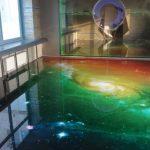 Фото 39: 3Д пол с космическим рисунком
