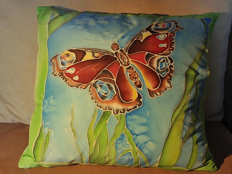 Роспись подушки