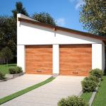 Фото 14: Односкатная крыша для гаража