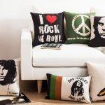 Фото 101: Подушки в рок стиле