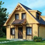 Фото 22: Двускатная крыша дома