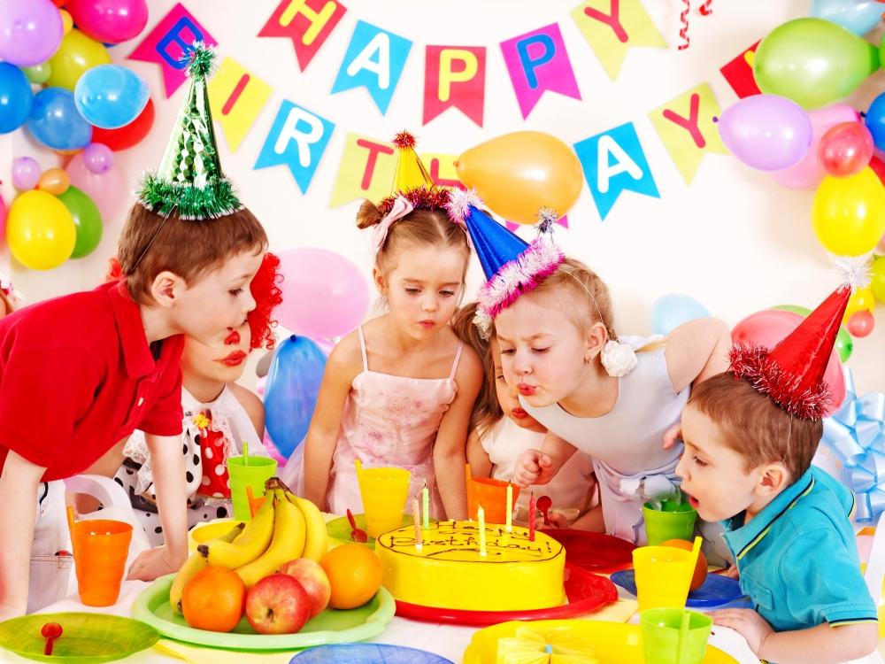 Организация дня рождения для детей