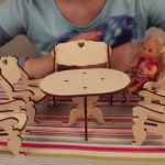 Фото 96: Мебель из фанеры для кукол