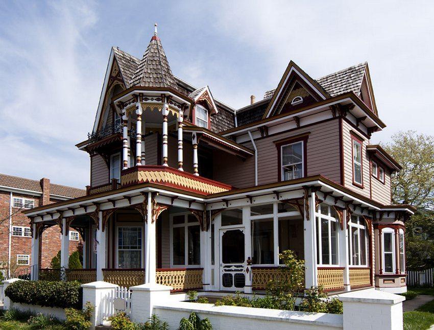 Комбинирование скатной и конусной крыши