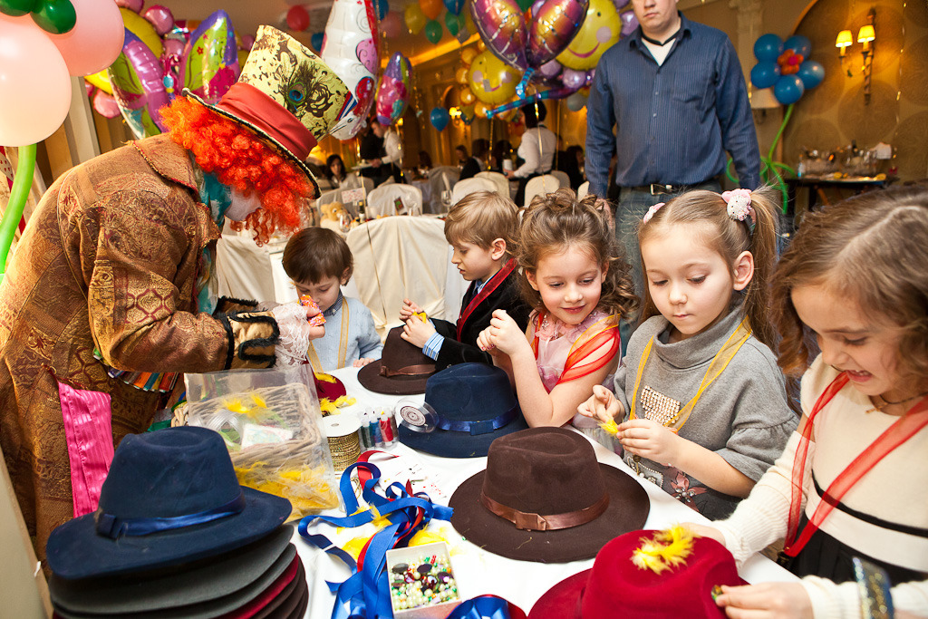 Конкурс по украшению шляп