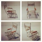Фото 49: Кресло из проволоки для куклы
