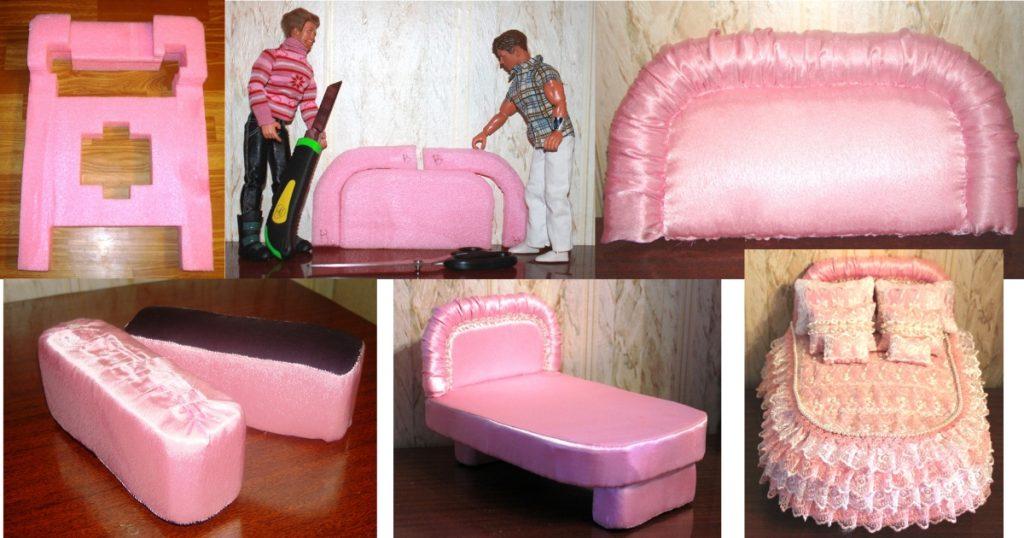 Кровать из вспененного полиэтилена