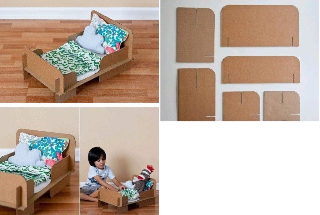 Кроватка из картона