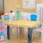 Фото 8: Мебель для кукол из бумаги