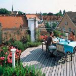 Фото 5: Сад на плоской крыше