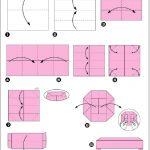 Фото 87: Стол оригами