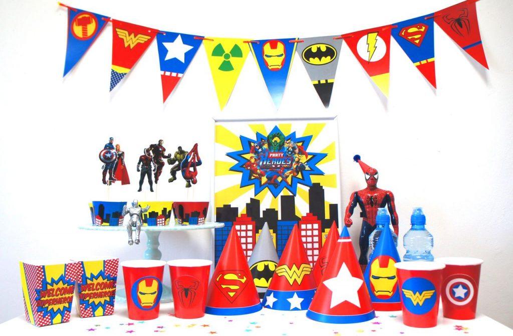 Атрибутика супер героя для праздника