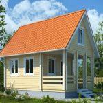 Фото 44: Дачный домик из бруса