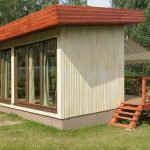 Фото 29: Дачный домик с большими окнами и террасой