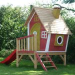 Фото 43: Детский домик на даче картинка