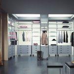 Фото 125: Дизайн П образого гардероба