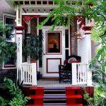 Фото 59: Дизайн крыльца в частном доме