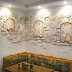 Фото 14: Дизайн кухонных стен