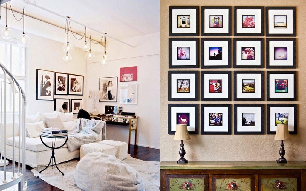Дизайн оформления стен фото