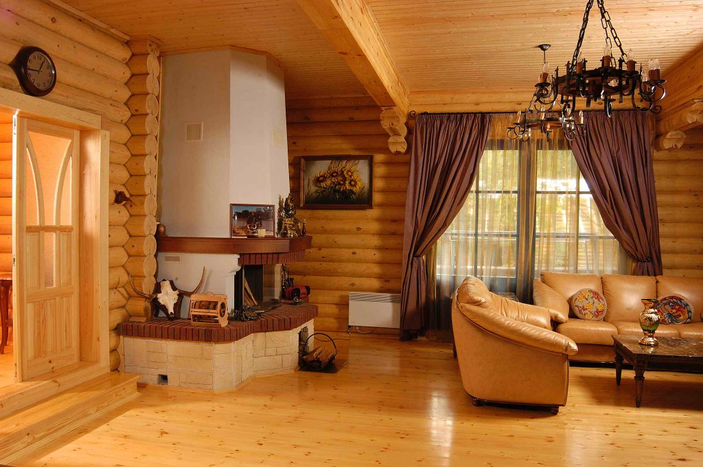 Финишная внутренняя отделка дачного дома