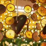 Фото 10: Гирлянда из апельсинов