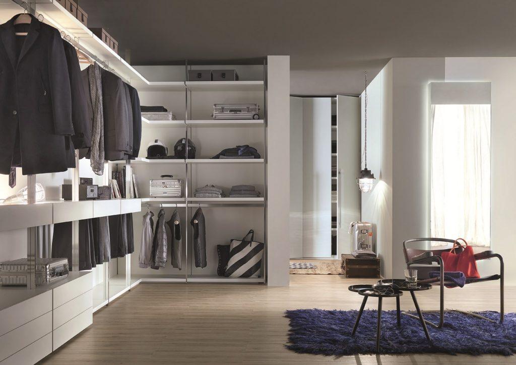 Хранение вещей в гардеробной