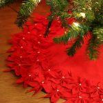 Фото 41: Красная юбка для елки