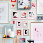 Фото 4: Оформление стены фотографиями