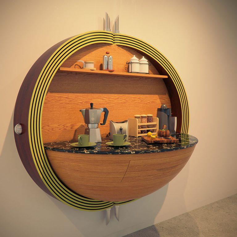 Креативный дизайн кухни своими руками 51