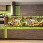 Фото 157: Отделка стен на кухне пластиком