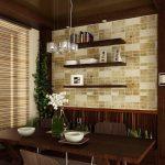 Фото 167: Панели для кухни из дерева