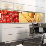 Фото 159: Пластиковые панели на стенах кухни фото